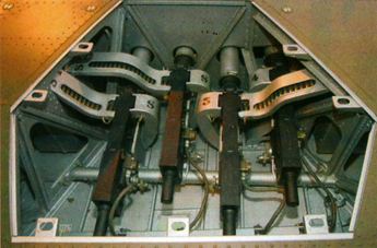 R4118's gun bay - a work of art